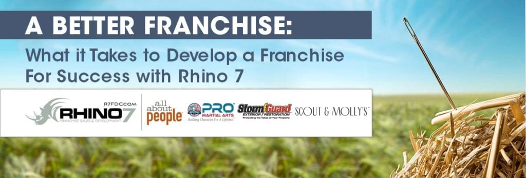 Developing a Better Franchise With Rhino 7