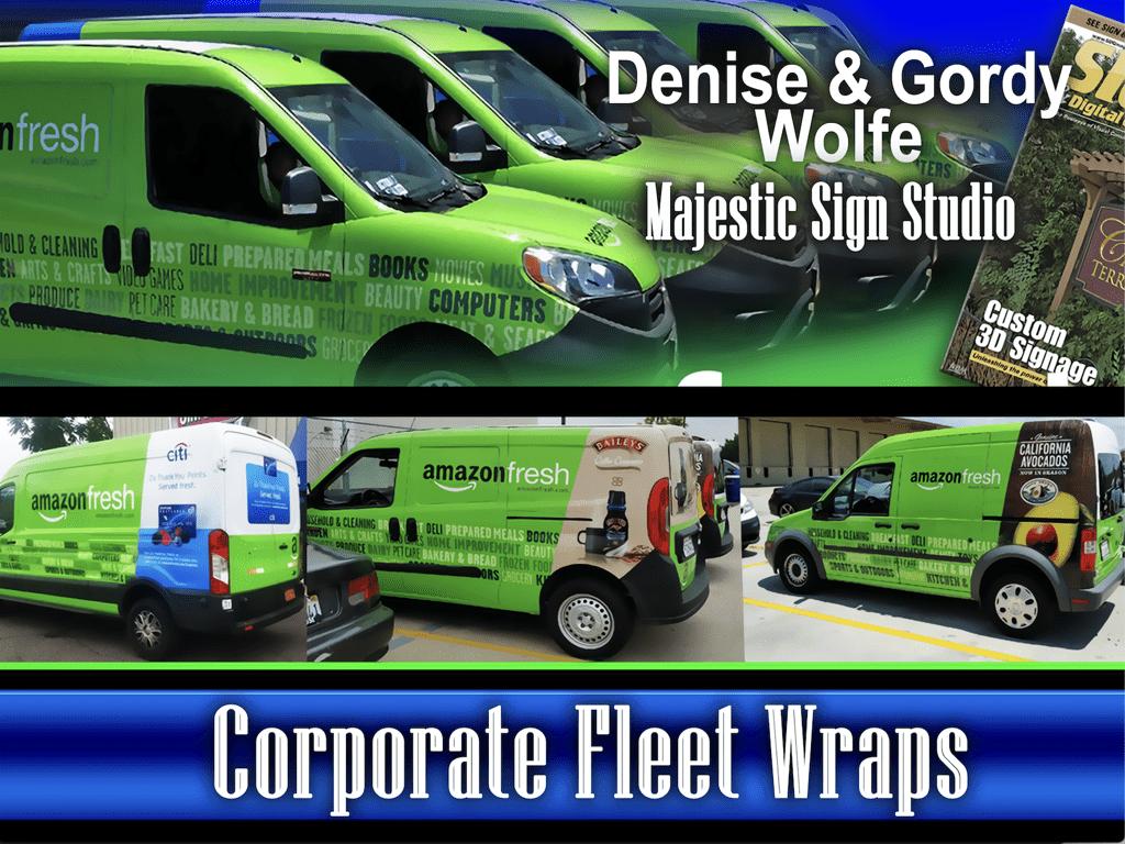 Corporate Fleet Wraps