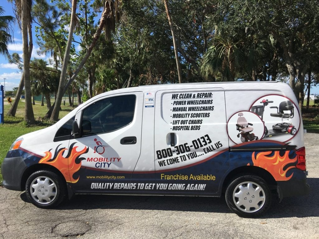 FBA Broker Mobility City Van